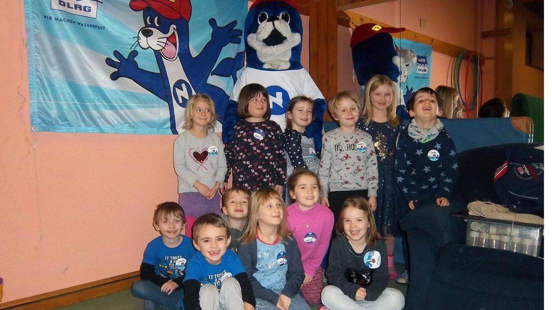Gruppenfoto vom Kindergarten in Bad Essen