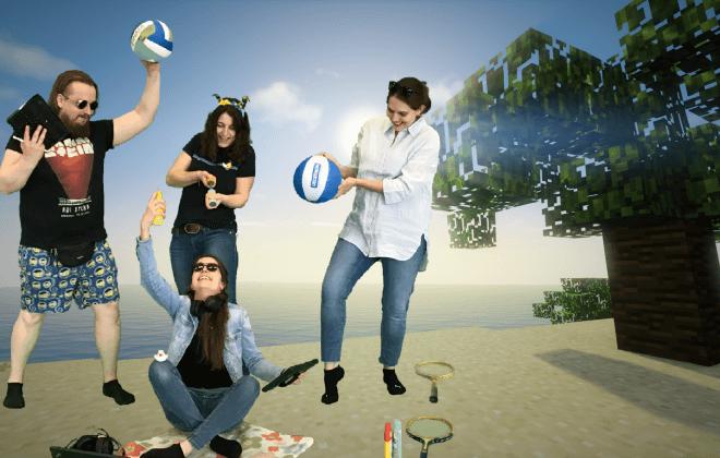 Gruppenfoto Ferienspiele